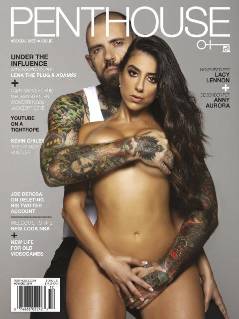 Anny Aurora - Revista Penthouse Foto 1