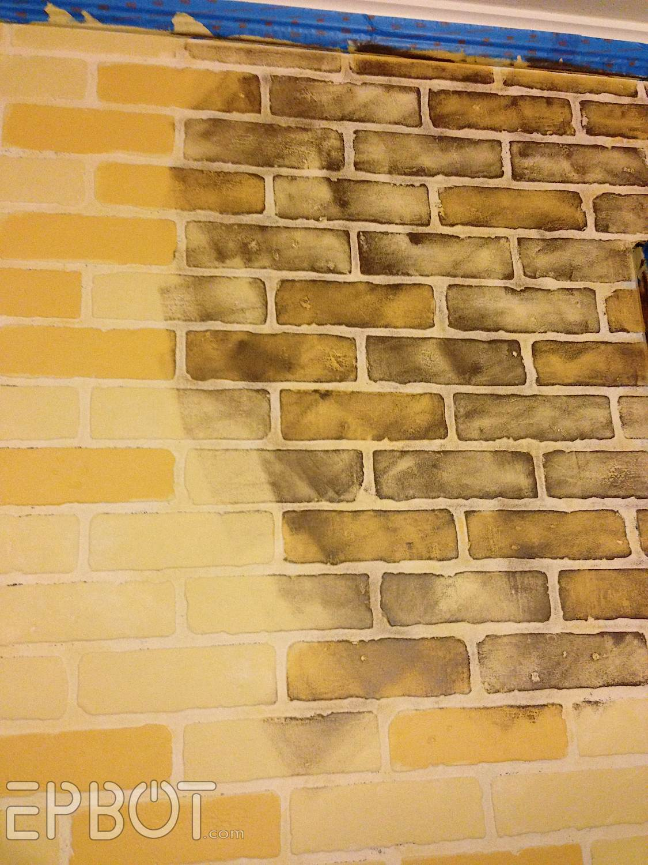 EPBOT: DIY Faux Brick Painting Tutorial