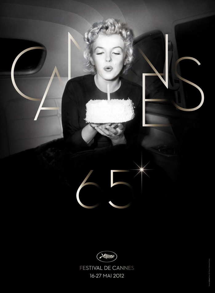 marilyn monroe cannes poster
