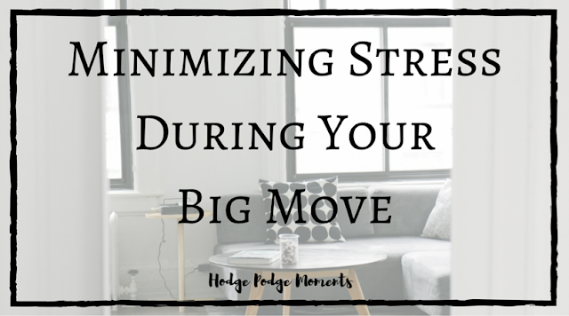 Minimizing Stress During Your Big Move