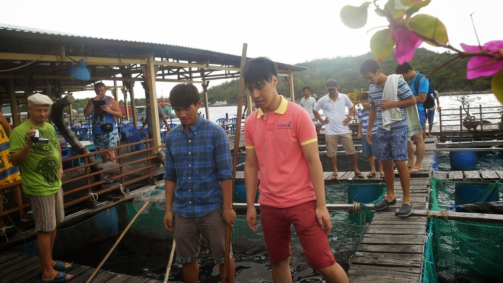 в гостях у рыбаков