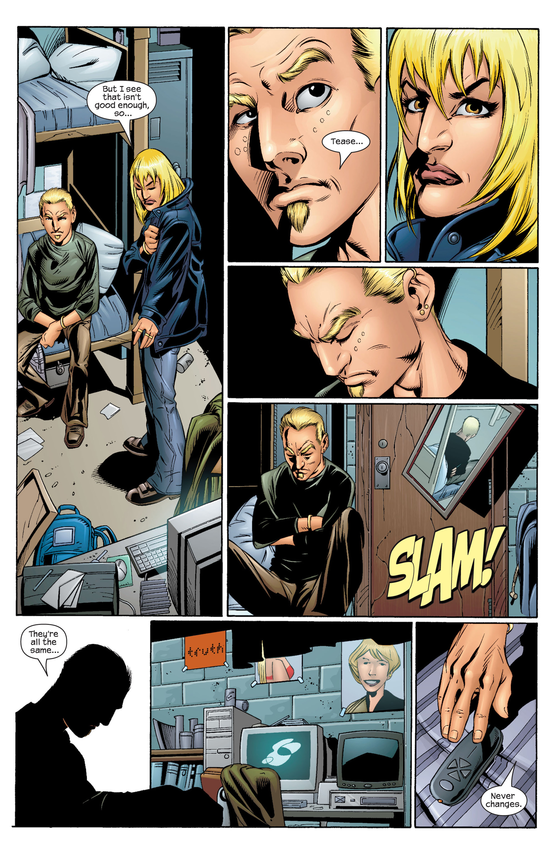 Read online Ultimate Spider-Man (2000) comic -  Issue #36 - 5