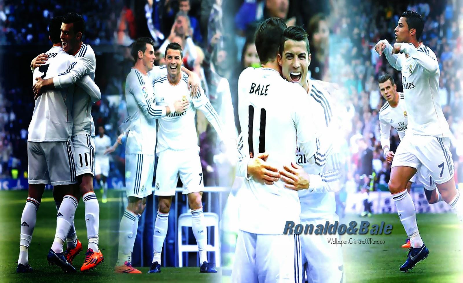 Cristiano Ronaldo Gareth Bale Wallpaper HD Real Madrid