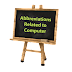 Abbreviations related to Computer and Technology