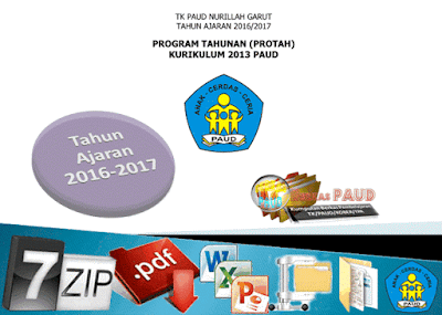 DOWNLOAD Contoh Program Tahunan PAUD Kurikulum 2013 Sem 1-2 TA 2016/2017