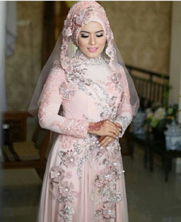 Model Jilbab Pengantin 2016