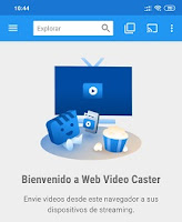 web video cast principal