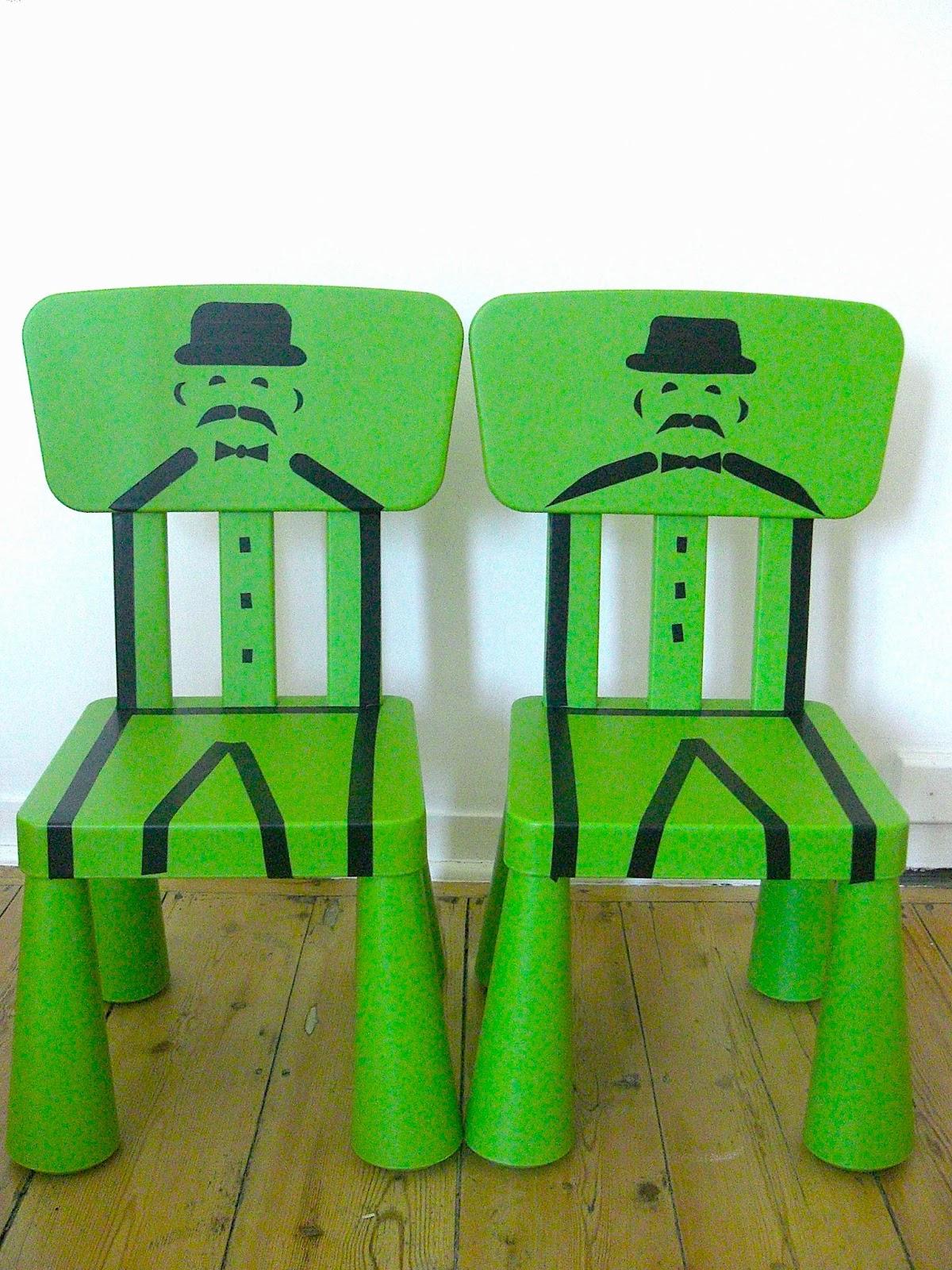 Gabulle in Wonderland: DIY du mercredi : deux chaises Mammut pour