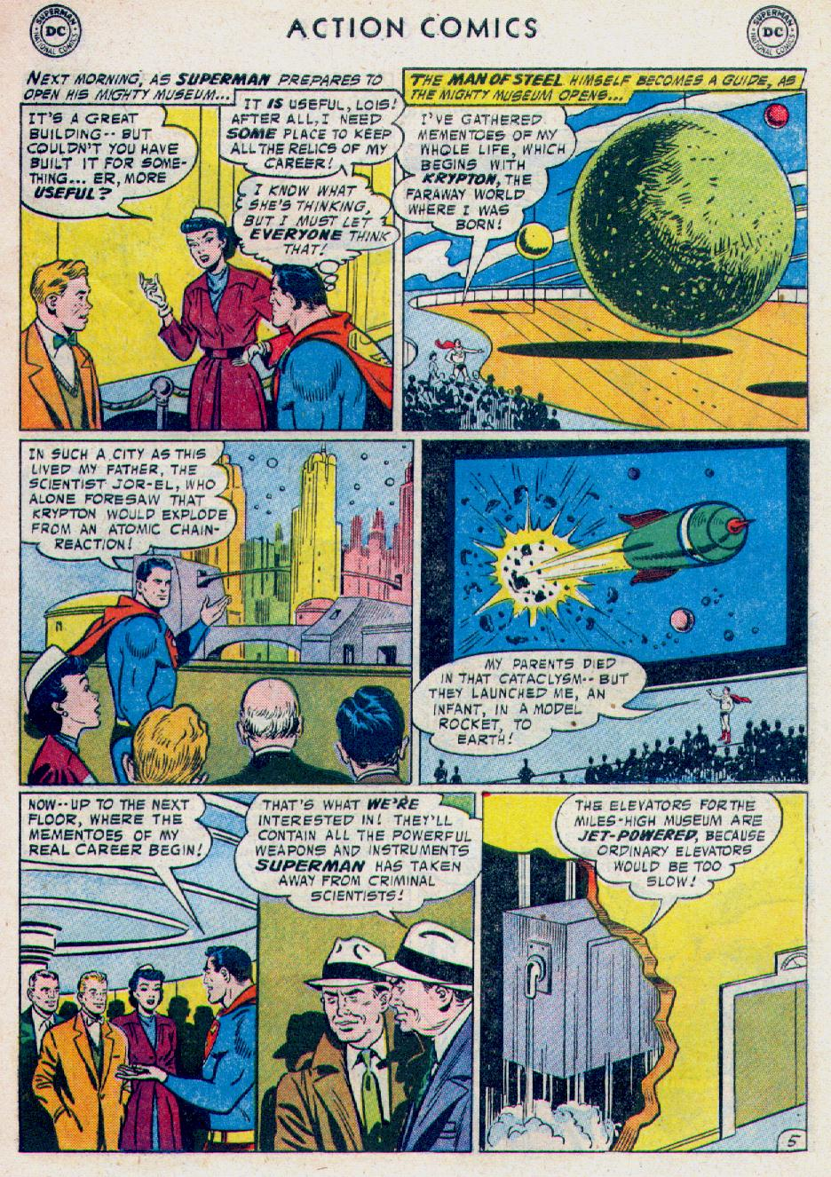 Read online Action Comics (1938) comic -  Issue #228 - 7
