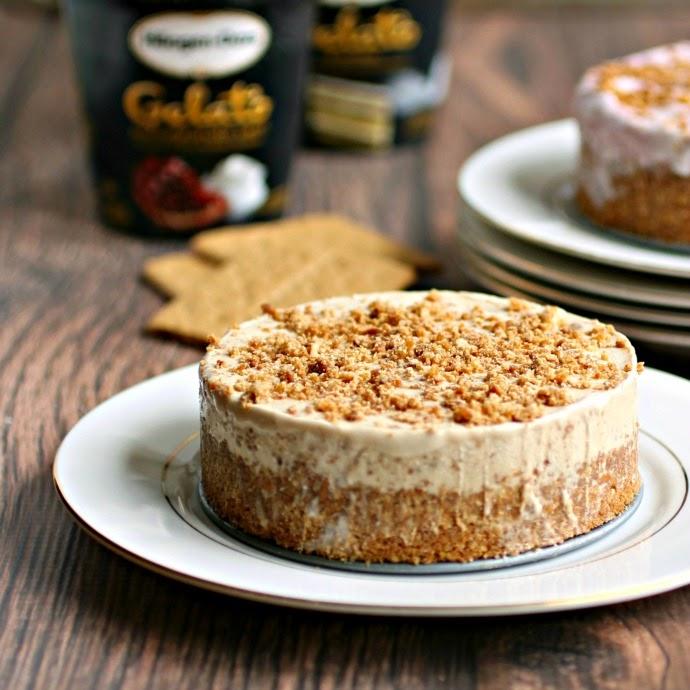 Gelato Crunch Cake