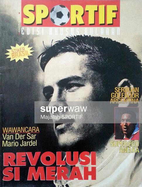 Majalah SPORTIF: REVOLUSI SI MERAH