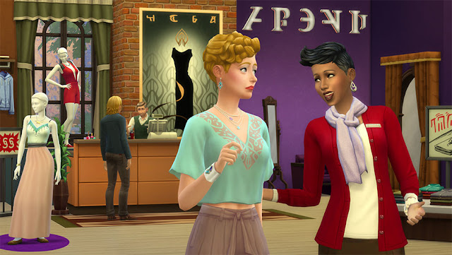 The Sims 4 Get to Work Gameplay