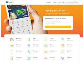 STARTUP KIOSON RESMI TERCATAT DI BURSA EFEK INDONESIA, daftar startup yang tercatat di BEI, daftar startup Indonesia,