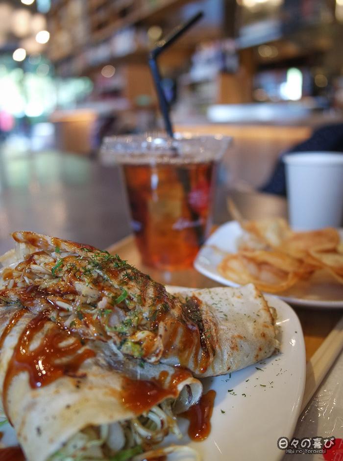 Okonomiyaki, Ashuku Cafe Park Side, Tour Orizuru, Hiroshima