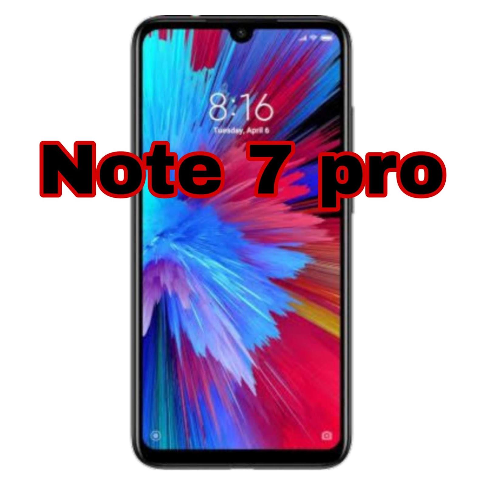 Redmi note 7 pro mobile review