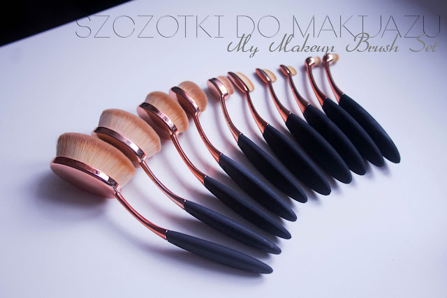 Szczotki Do Makijazu - My Makeup Brush Set