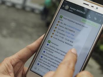 Cara Daftar Paspor Lewat Whatsapp (WA)