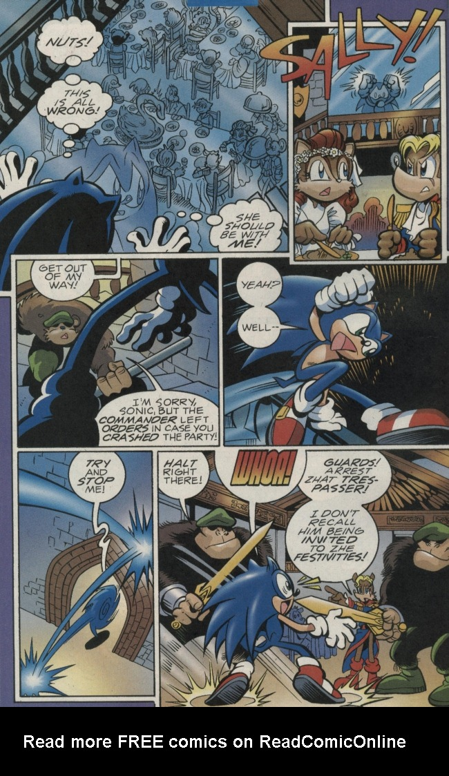 Read online Sonic The Hedgehog comic -  Issue #156 - 6