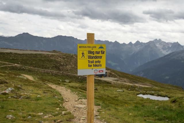 Alpenrosensteig vom Fisser Joch nach Fiss  Wanderung Serfaus-Fiss-Ladis 4