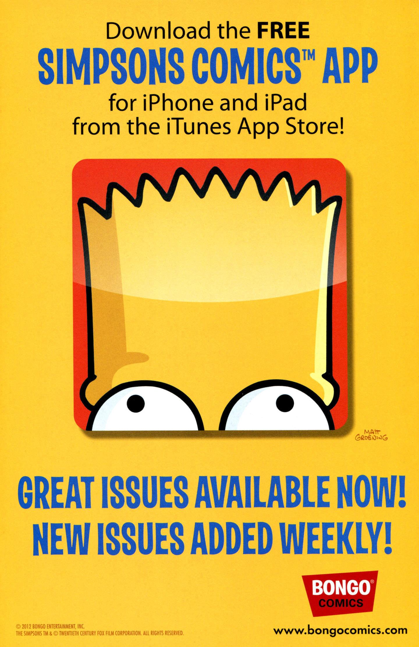 Read online Simpsons One-Shot Wonders: Professor Frink comic -  Issue # Full - 2