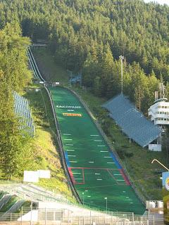 Salto de esquí Zakopane Polonia