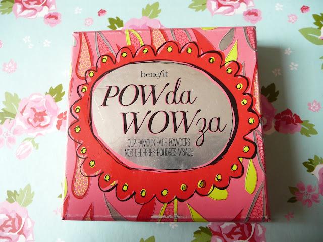 Benefit Powda Wowza Palette Bronzer Blusher Hoola Coralista Bella Bamba Matte Shimmer