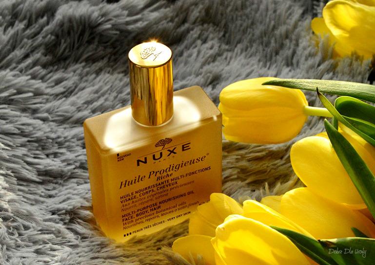 Nuxe Olejek Prodigieuse® Riche o bogatej konsystencji recenzja