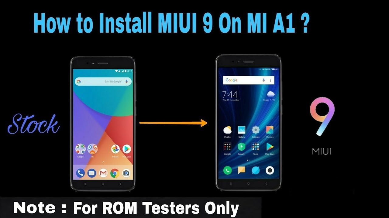 How To Flash Mi A1 Fastboot Rom ••▷ SFB