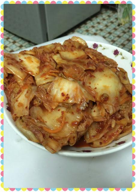 美味可口的韓式泡菜