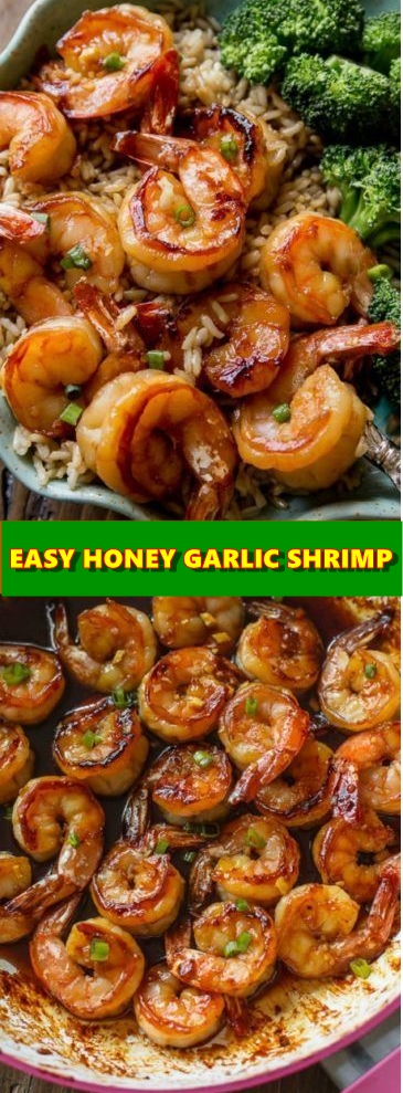 Quick And Healthy Dinner: 20 Minute Honey Garlic Shrimp