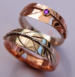 Zhaawano Giizhik wedding rings