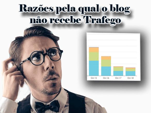 Razões pela qual seu blog não esta recebendo tráfego