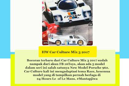 Hot Wheels Car Culture 2017 Mix 3 : Race Day