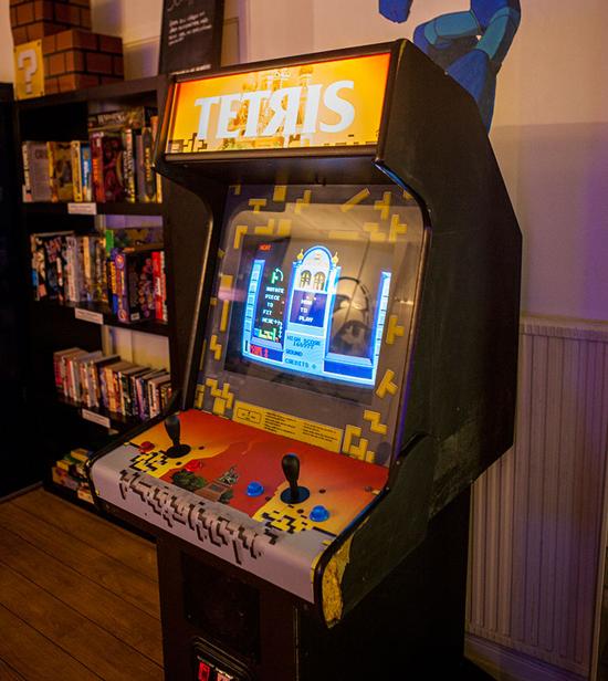 Tetris arcade Atari 1988 cabinet