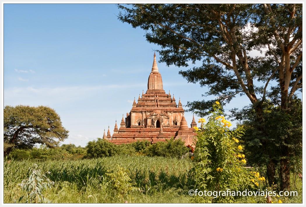 Templo de Sulamani en Bagan, Myanmar
