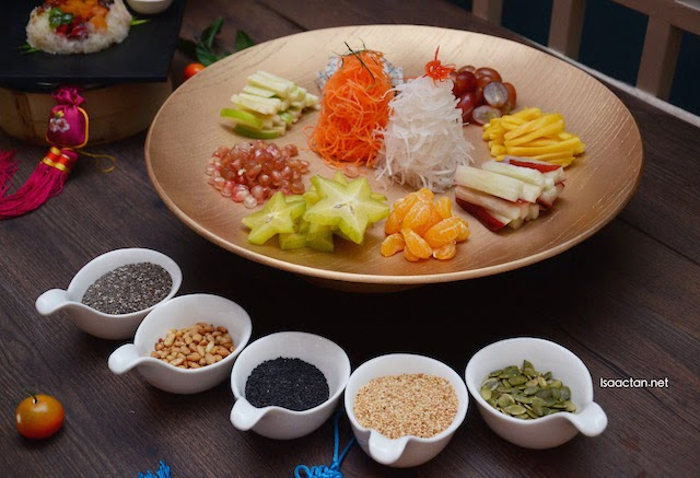 Chinese New Year 2015 Tai Thong Set Menus