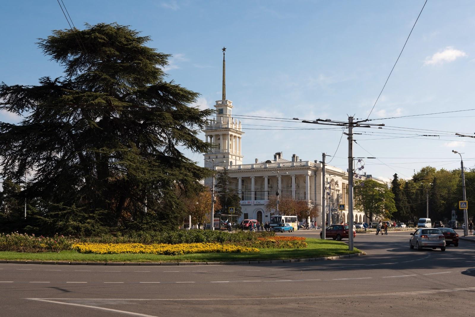 Театр имени Лавренева. Севастополь
