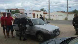 Polícia Militar realiza ação preventiva na entrada de Picuí