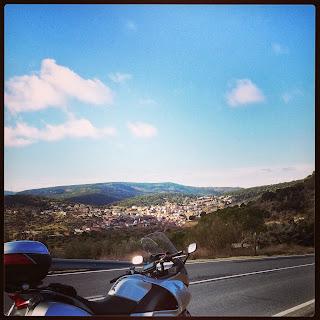 ruta en moto Valdemaqueda San Bartolome de Pinares