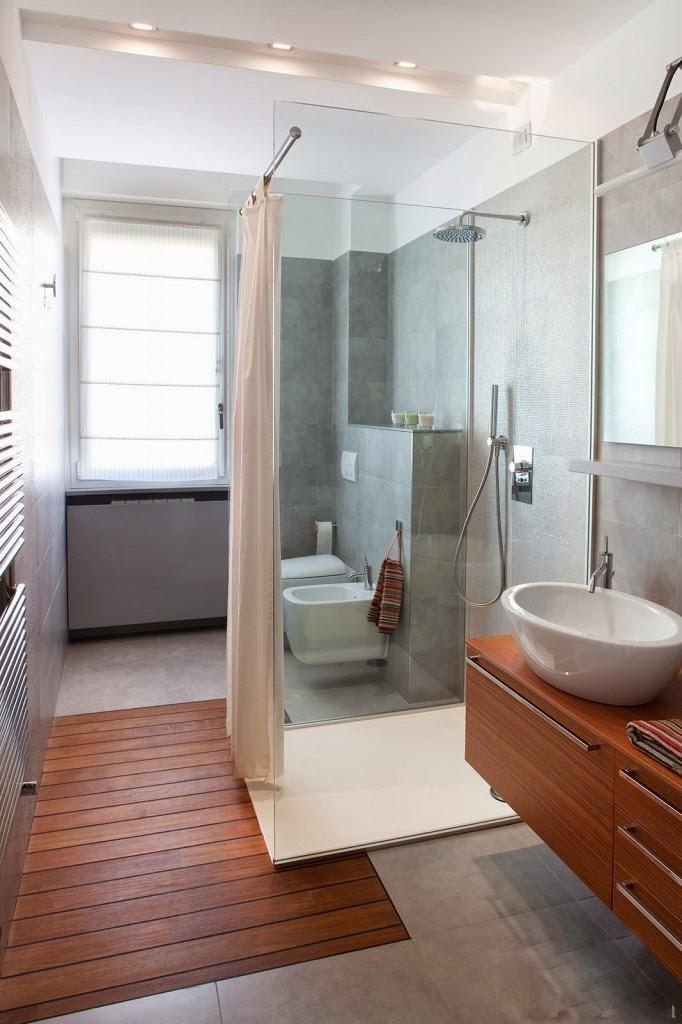 Parole di case: Una piccola stanza da bagno