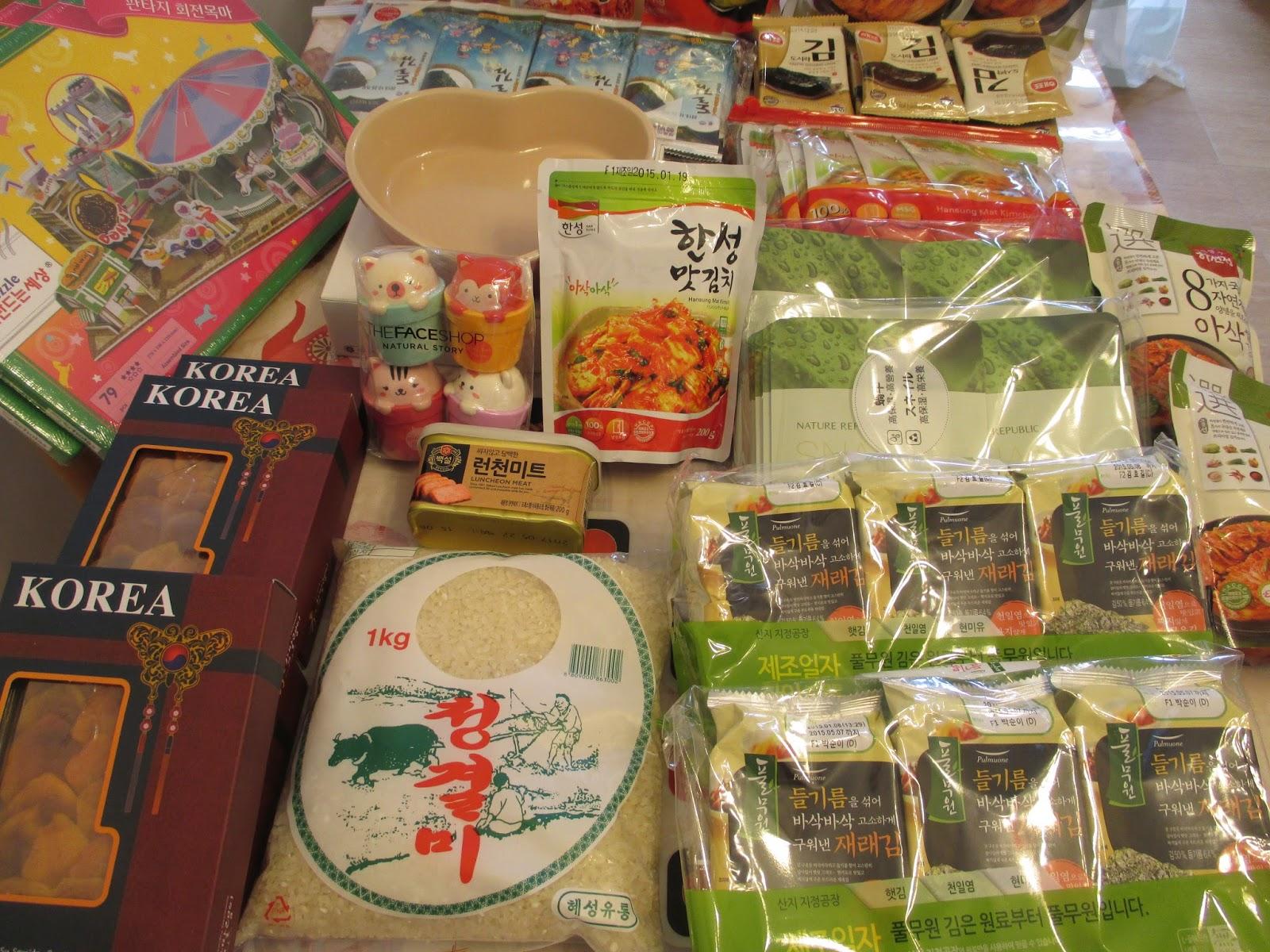 Helen's Kitchen: 韓國五天之旅(19-23.1.2015) - 手信篇