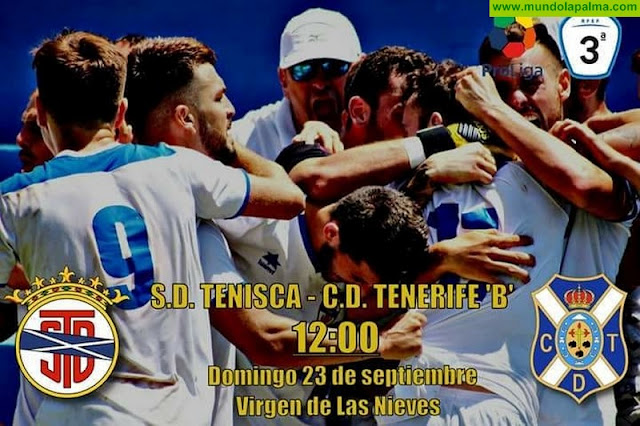 S.D.Tenisca Vs Tenerife B - Domingo 23 de septiembre