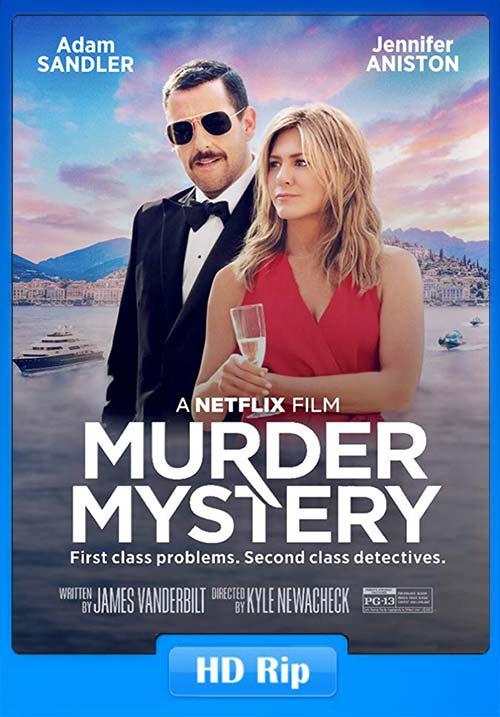 Murder Mystery 2019 720p WEBRip x264 | 480p 300MB | 100MB HEVC