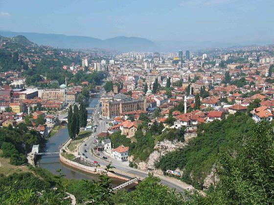 Sarajevo, Capital da Bósnia-Herzegovina
