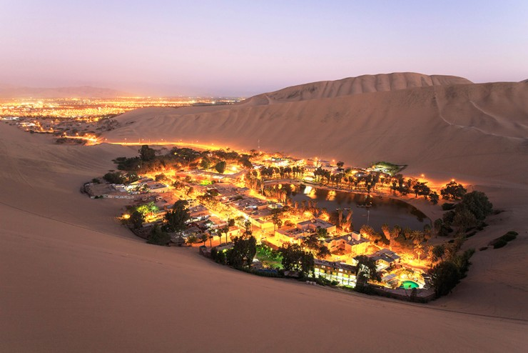 Top 10 Vibrant Cities in South America - Huacachina, Ica Region, Peru