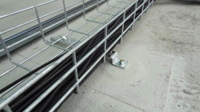 Cable Tray Solution For Solar Farms On Membrane Roofs