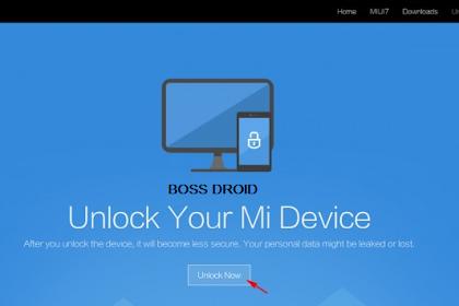 Cara Unlock Bootloader untuk Semua HP Xiaomi