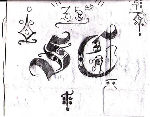 satan disciples drawings