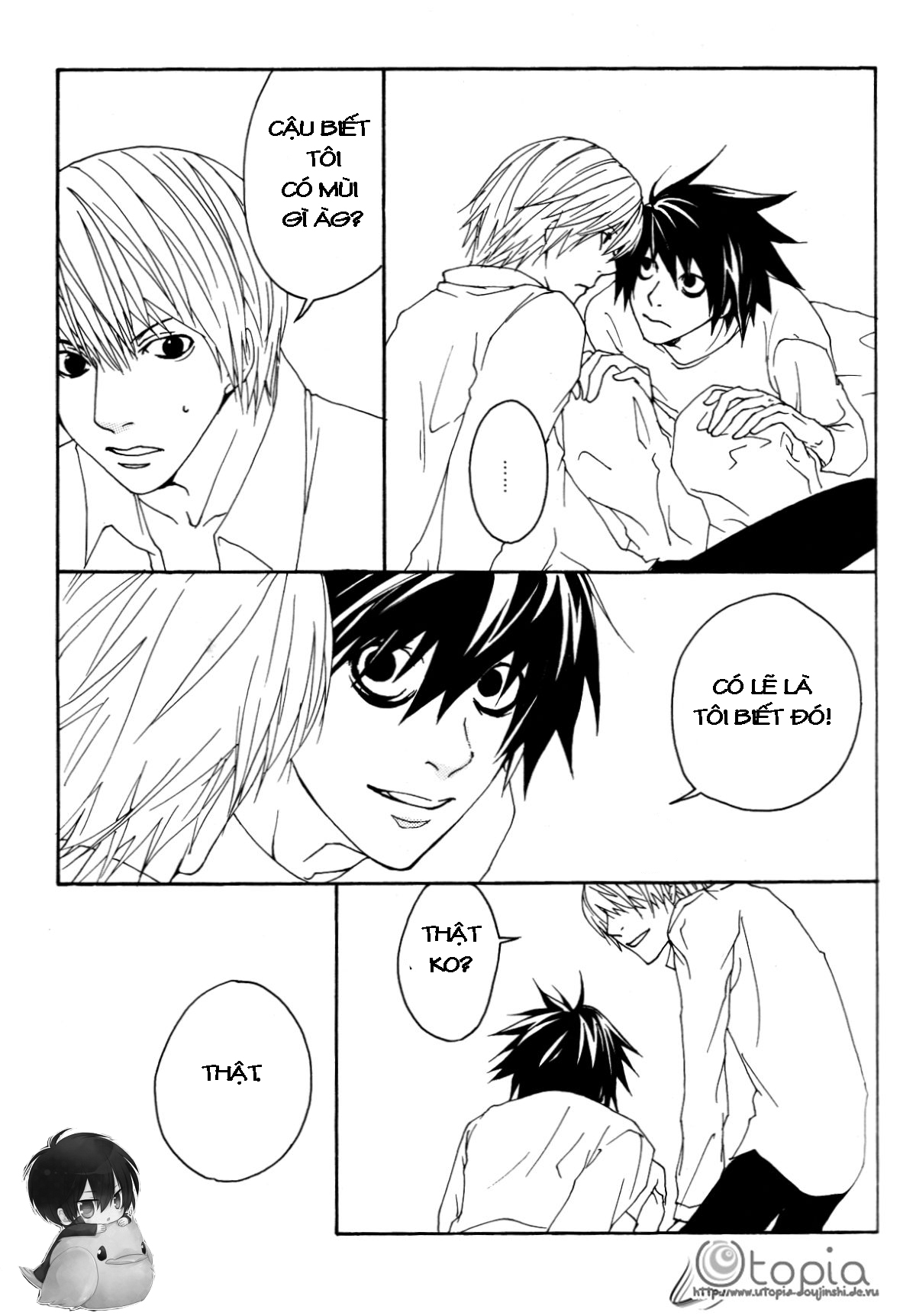 Hình ảnh 015 in Death Note Doujinshi - Feather Plus