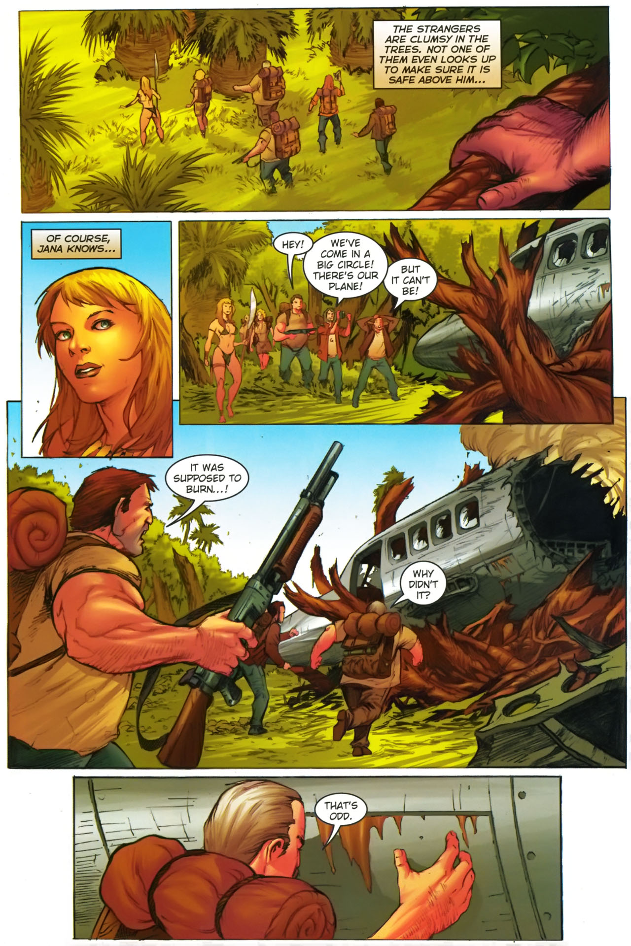 Read online Jungle Girl comic -  Issue #2 - 22